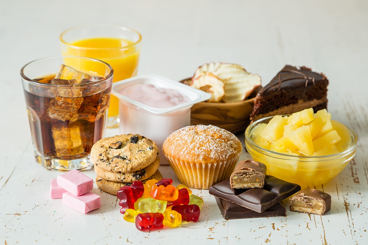 Assortment of Sweets and Desserts