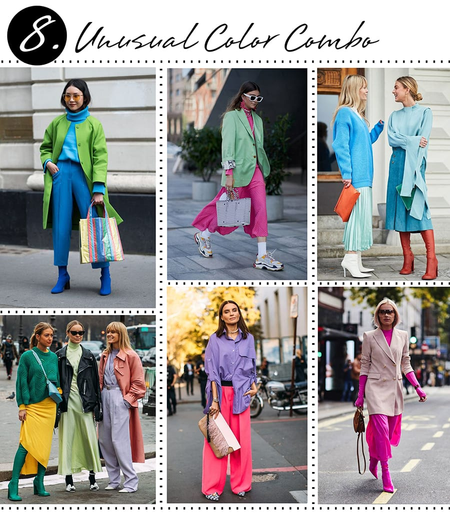 How to be Fashionable - Unusual Color Combo
