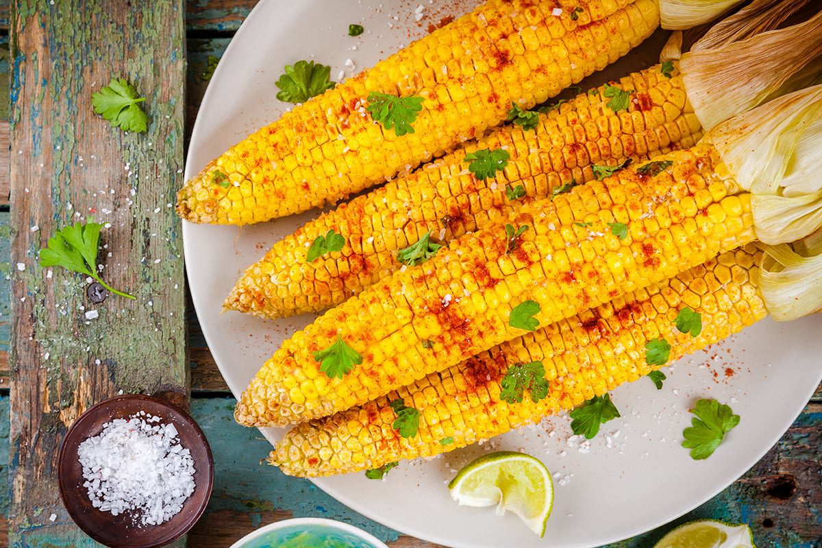 Caribbean Style Corn how to cook corn on a cob