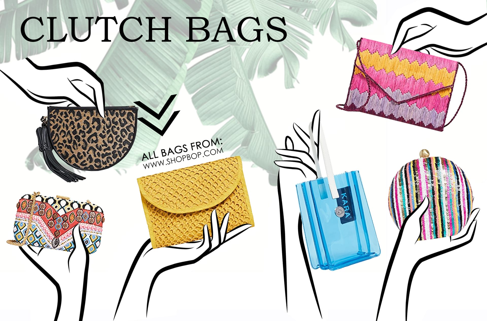 Clutch Bags types of purses
