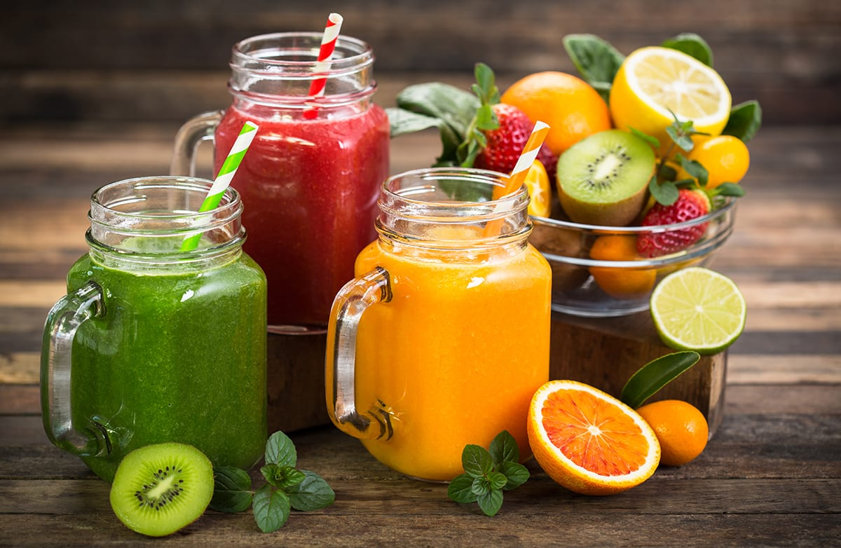 Fruit, Vegetable and Protein Smoothie