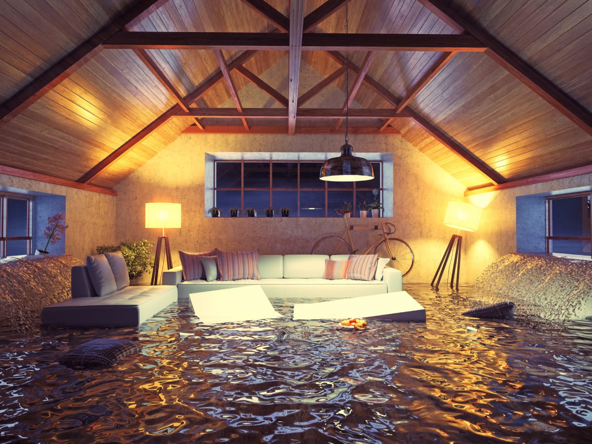 Flood in Home