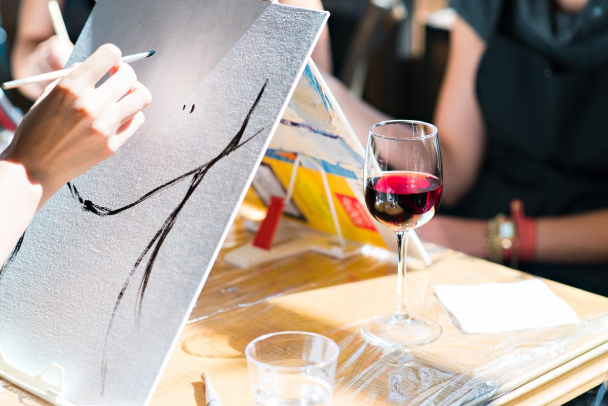 Wine and Paint Class