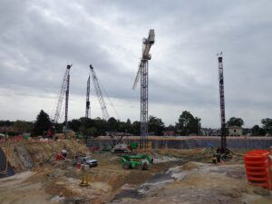 Auger Cast Piles | Augered Piles Used In N.C. Water Utility